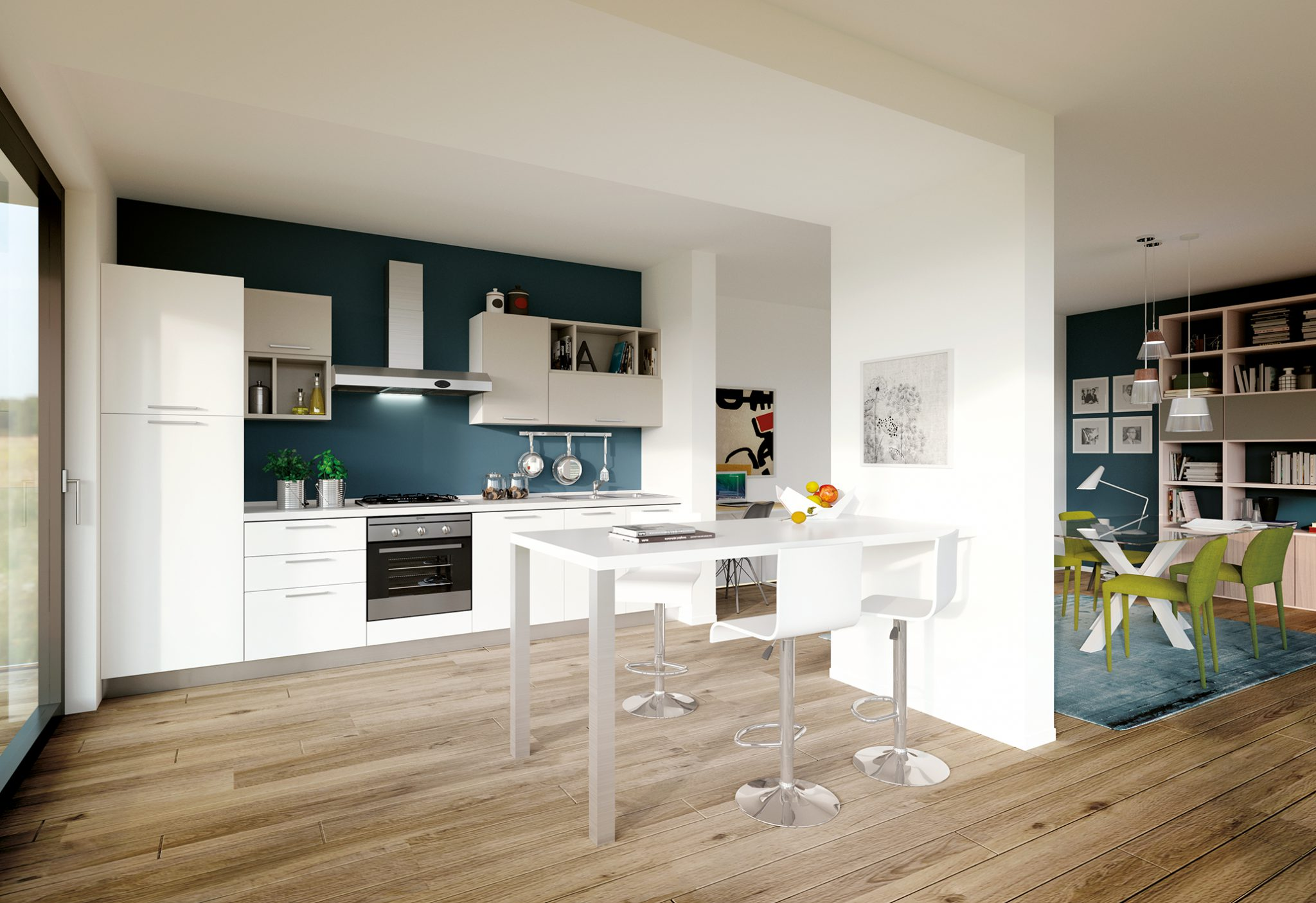 Cucina moderna design best layer slider with cucina moderna design awesome modello di cucina - Design cucine moderne ...